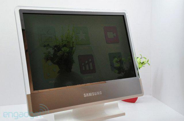 прозрачный монитор sumsung