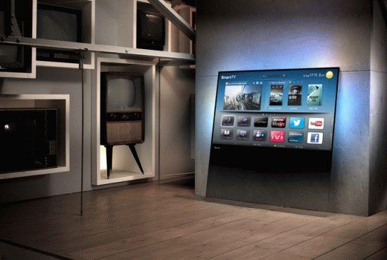 прозрачный телевизор