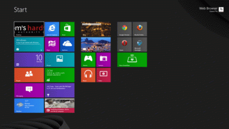 Windows8 меню Пуск